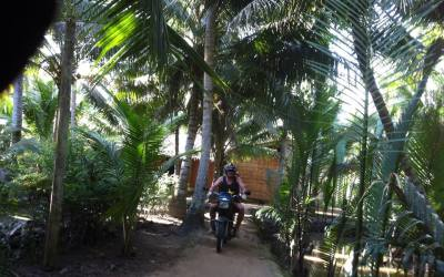 Mekong delta motorbike tours from Saigon