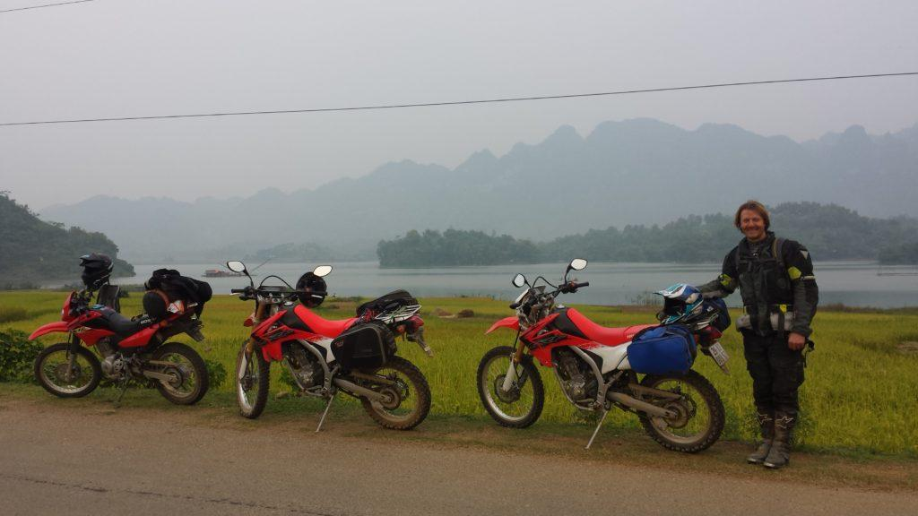 HUE MOTORBIKE TOUR TO HAMBURGER HILL AND WAR RELICS