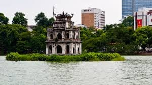 Hanoi Jeep City Tour, Hoan Kiem Lake