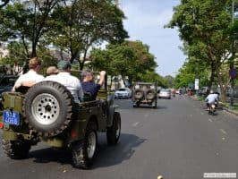 GOOD MORNING SAIGON CITY TOUR BY JEEP