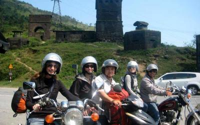 Hoi An motorbike tour to Hue via Hai Van Pass