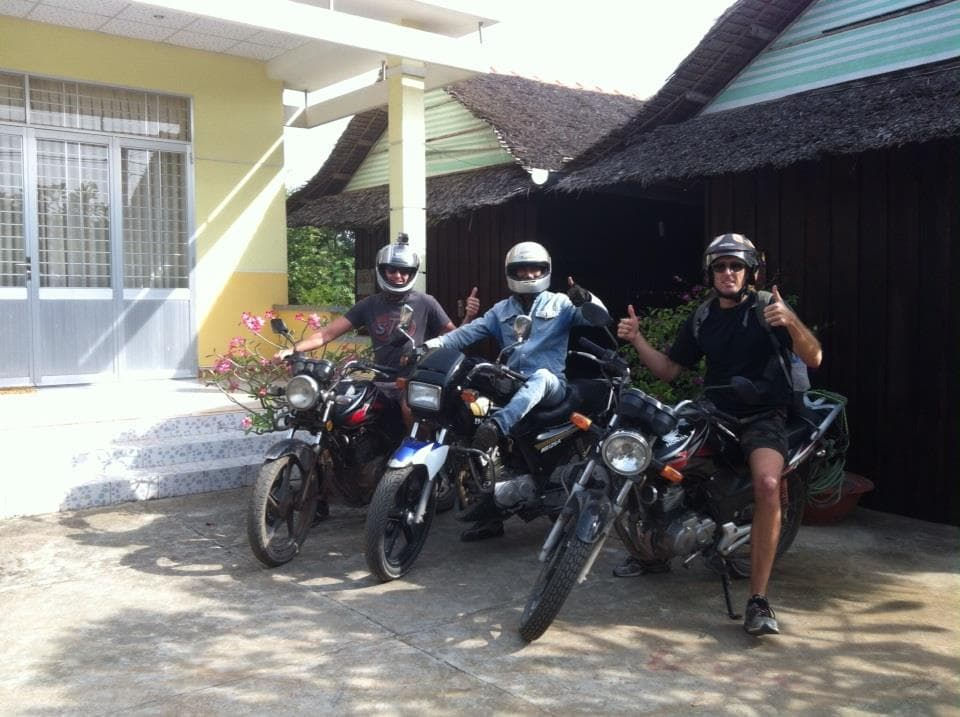 Hoi An Motorbike Tour to Mekong Delta and Saigon via Ho Chi Minh Trails and coast