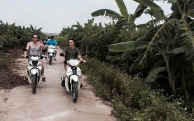 Saigon motorbike tour to Nam Cat Tien