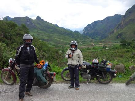 Hanoi motorbike tour to Thac Ba lake in Yen Bai and Ba Be National Park in Bac Kan Province