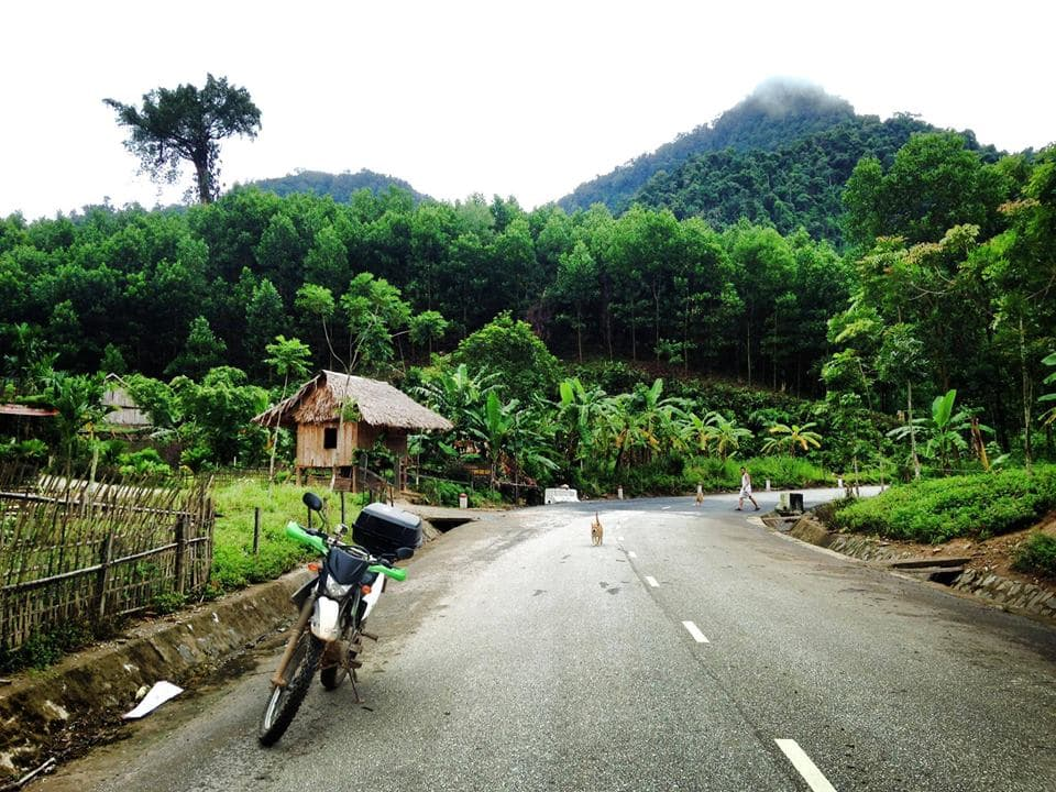 Hoi An Motorbike Loop Tour on Ho Chi Minh trail to Minority Villages